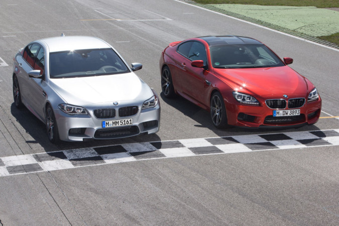 2014 BMW M5 and M6