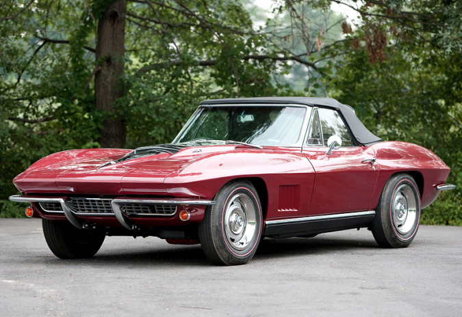 1967 Chevrolet Corvette Sting Ray Convertible L71 427 (C2)