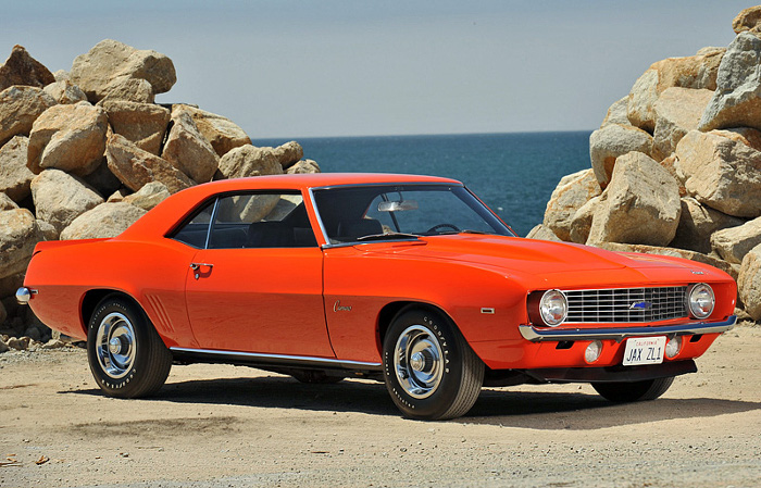 1969 Chevrolet Camaro ZL-1; top car design rating and specifications