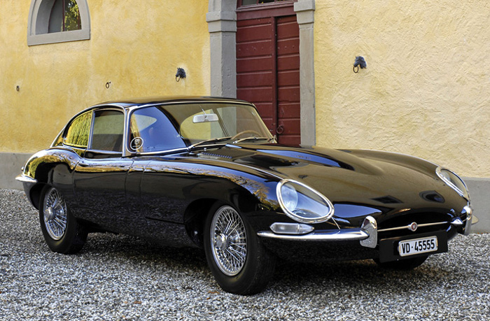 1961 Jaguar E-Type; top car design rating and specifications