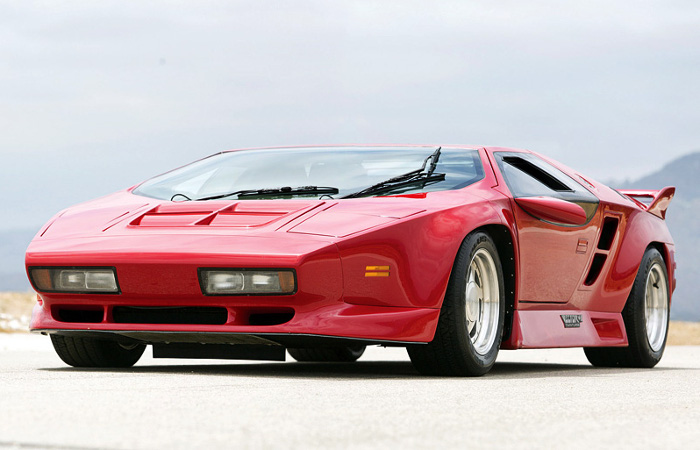 1989 Vector W8 Twin Turbo; top car design rating and specifications