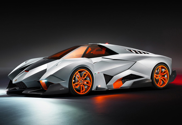 2013 Lamborghini Egoista Concept; top car design rating and specifications