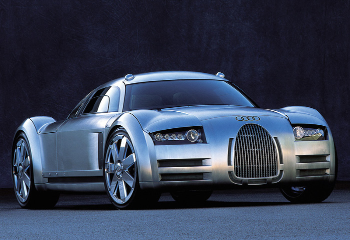 2000 Audi Rosemeyer Concept; top car design rating and specifications