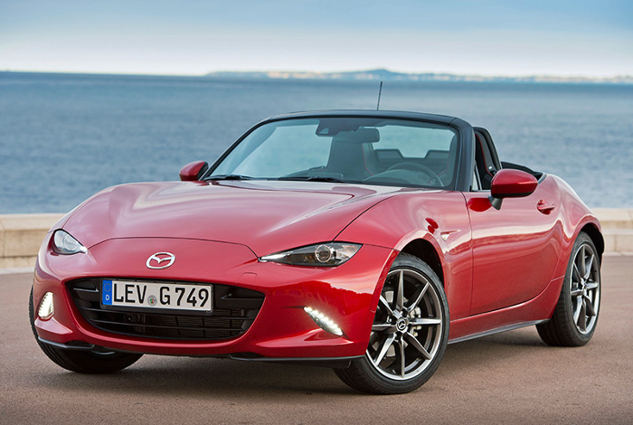 2015 Mazda MX-5; top car design rating and specifications